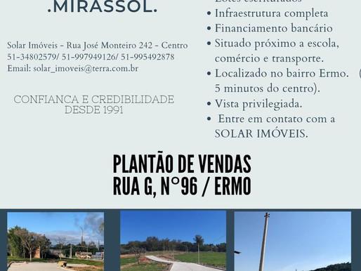 Imobiliária Solar lança Loteamento Mirassol