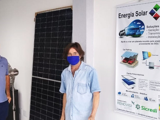 Gomes Jardim recebe kit de energia solar