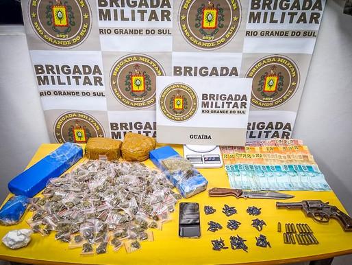 Presos no bairro Pedras Brancas acusados de homicídios e assaltos