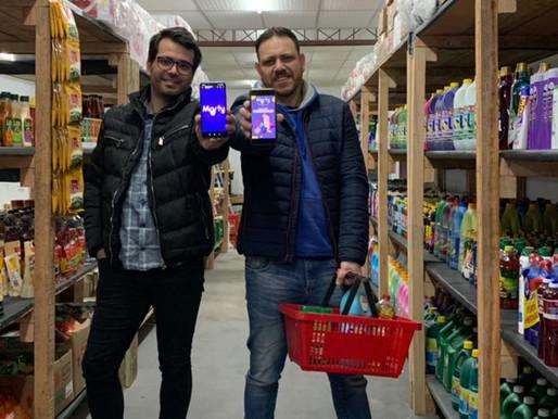 O primeiro supermercado totalmente online do RS completa dois meses