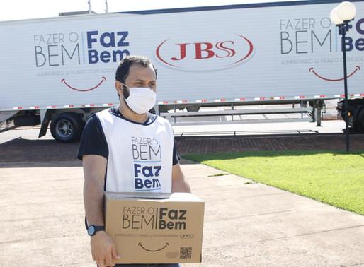 JBS reforça doações para hospital de Camaquã