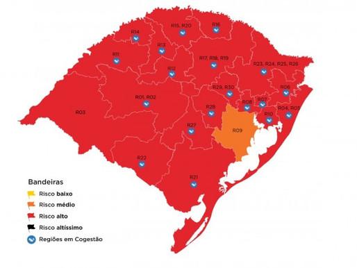Guaíba registra mais três óbitos e aumenta ocupação na UTI