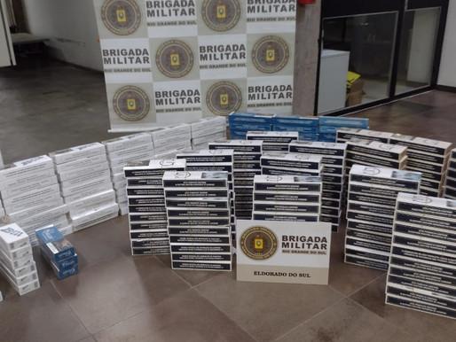Preso por contrabando de cigarros em Eldorado do Sul