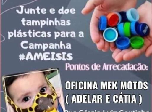 FAÇA SUA PARTE: Tampinhas podem salvar a  vida de uma criança