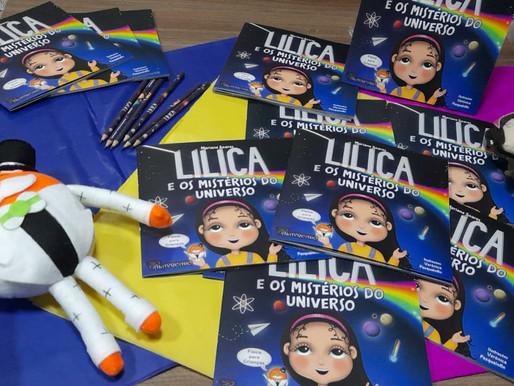 """Editora Palavreado  publica o livro """"Lilica e os Mistérios do Universo"""""""