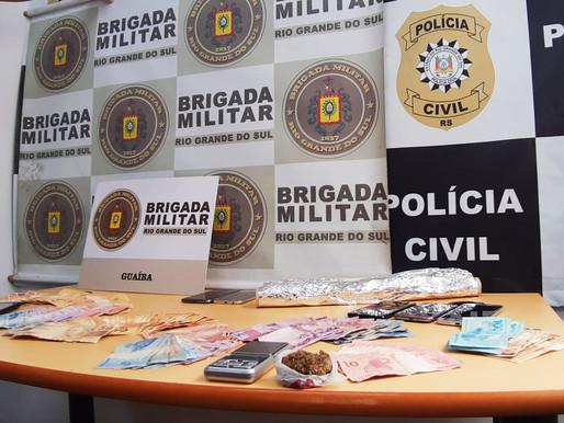 Polícia Civil e Brigada Militar realizam operação na cidade