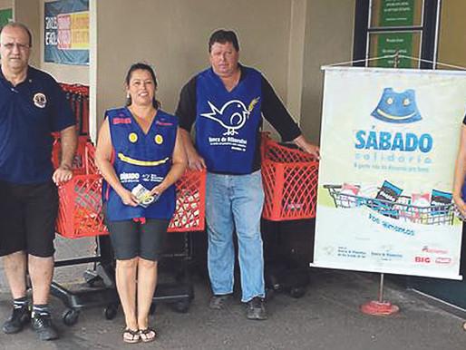 Banco de Alimentos realiza mais um Sábado Solidário