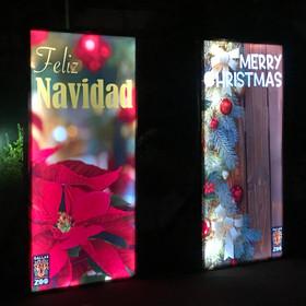 LED Christmas cards