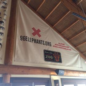 96 Elephants overhead banners