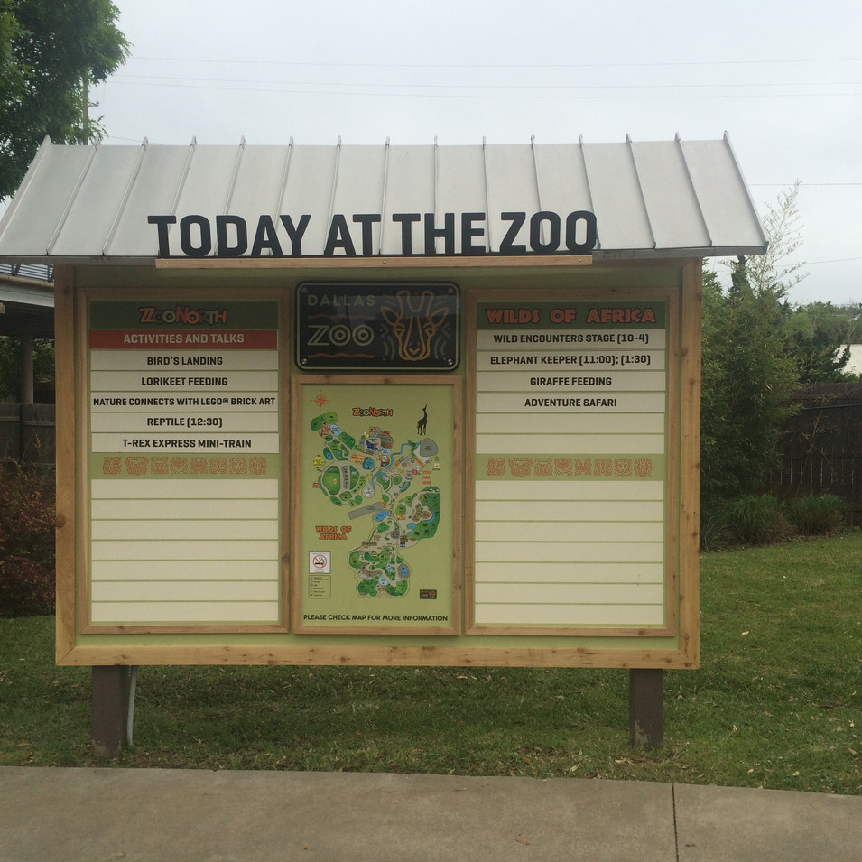 Today At The Zoo