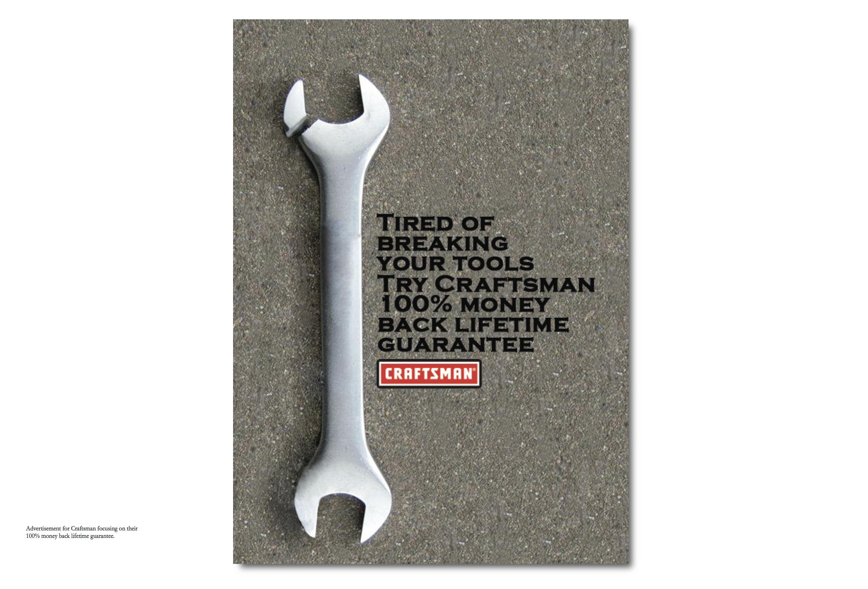 Craftmens Print Ad