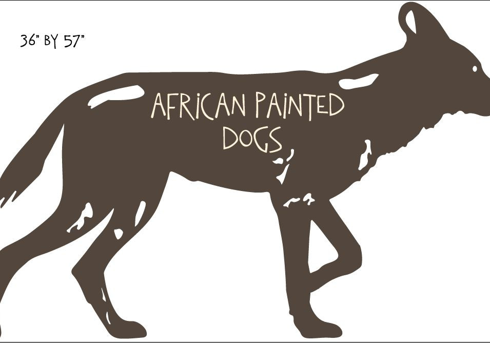 african painted dog