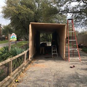 Dinos tunnel install