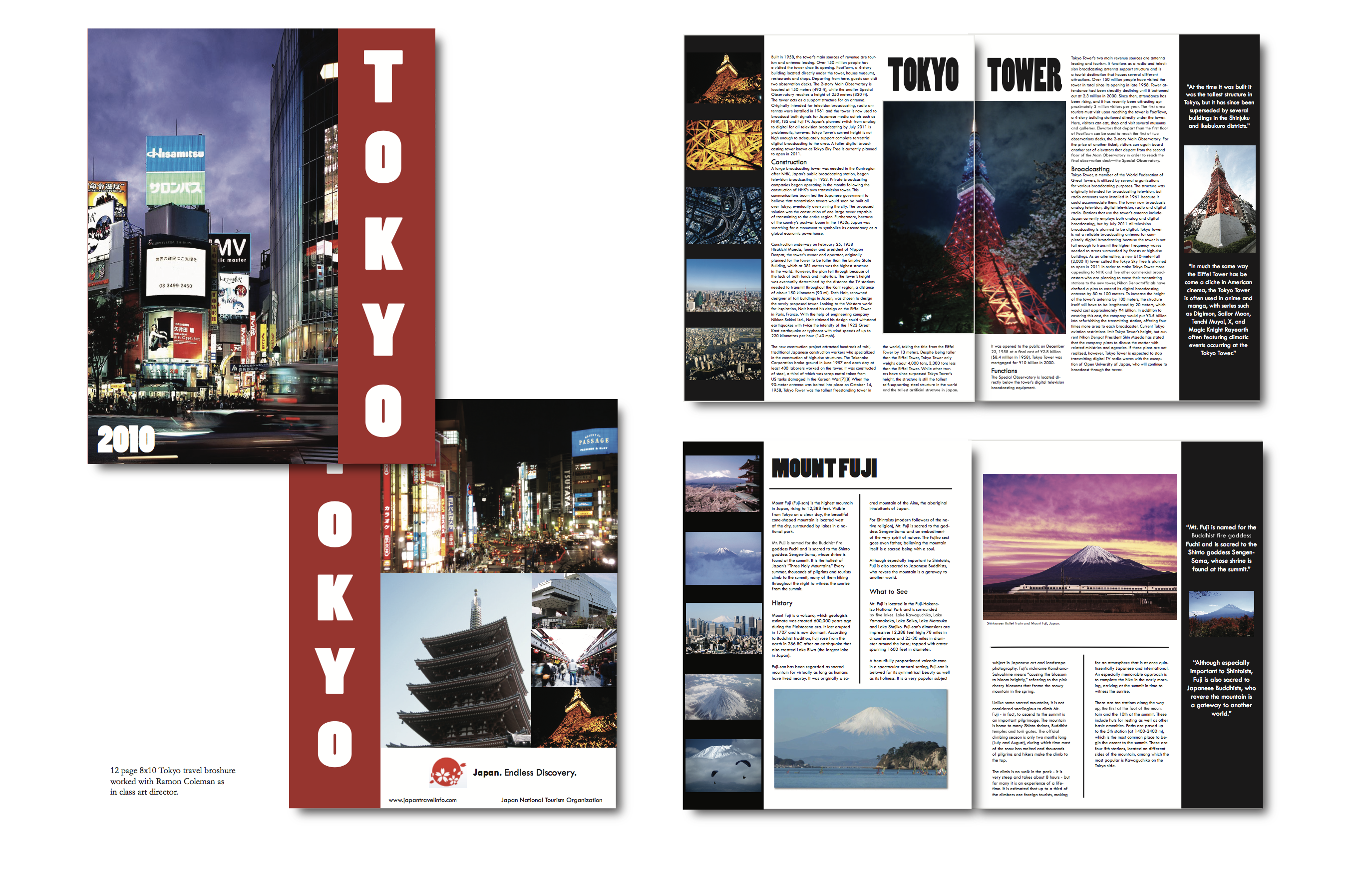 Toyko Travel Brochure