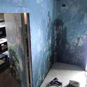Pitviper wall backdrop