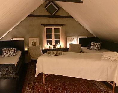 Rum för samtal och massage.