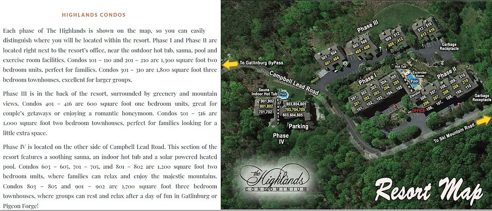 Photo 03 Property Map & Unit Statistics.