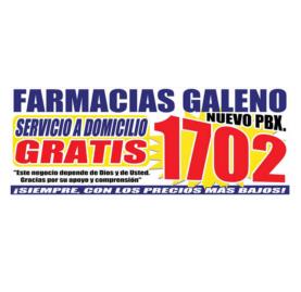 Farmacias Galeno Tel. 1702