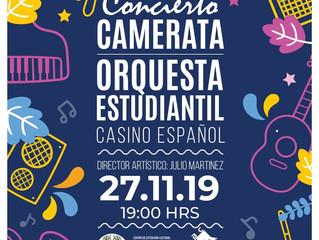 Concierto Camerata Orquesta Estudiantil