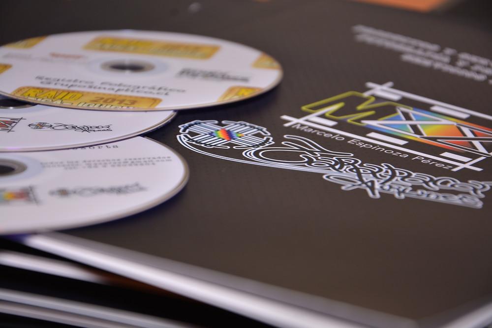 Discos Impresos personalizados