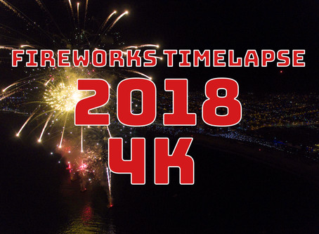 4K FIREWORKS Timelapse & Slowmotion