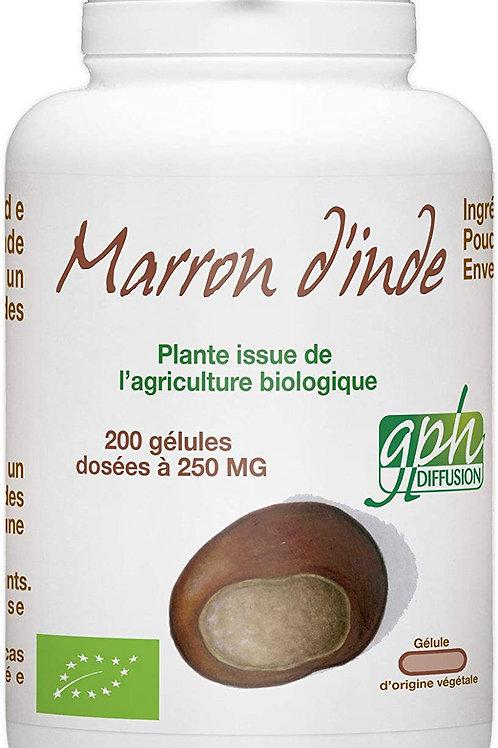 GCHCR-Libido- Marron d'Inde Bio 250mg - 200 gélules végétales