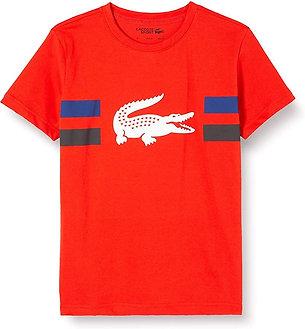 GCHCR -  Lacoste T- Shirt Garçon et fille. Vue de face