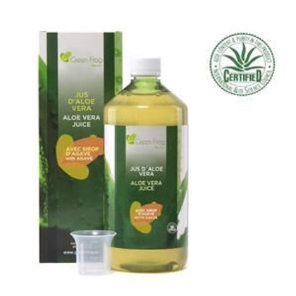 Ateleir GCHCR-Foran - GREEN FROG Jus d'Aloe Vera au Sirop d'Agave 100% Frais et