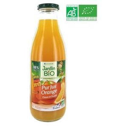 Ateleir GCHCR-LEA NATURE Pur jus d'Orange JARDIN BIO 1 L Conditionné en