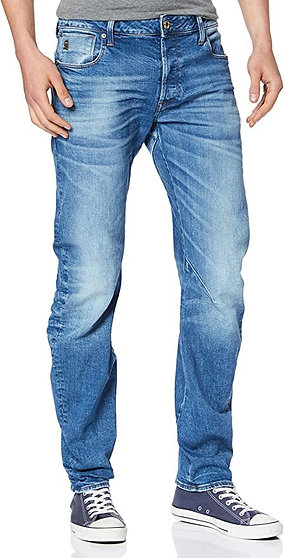 Marque Blanc GCHCR-G-STAR RAW Arc 3D Slim Jeans Homme