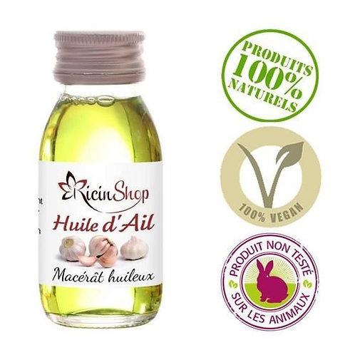 Ateleir GCHCR-Huile d'ail 60 ml 100% pure et naturelle