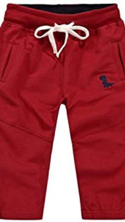 GCHCR-Pantalon de Jogging Sport pour Garçon, Coton Pantalons Jogging Elastique