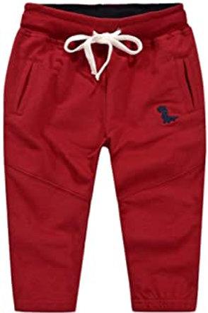 Pantalon rouge vue de face