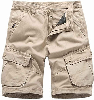 GCHCR -  Comefohome Homme Cargo Shorts Bermuda Classiques