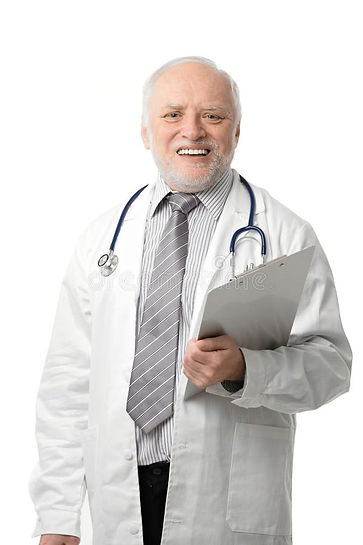 senior-doctor-laughing-to-camera-1627671