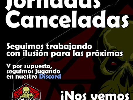 Cancelación de las Jornadas Ludorussafa 2020