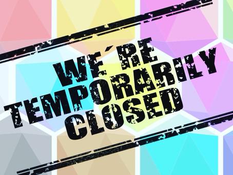 Cancelamos las próximas sesiones