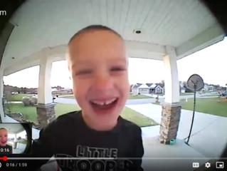 Video Doorbell Cute Kid