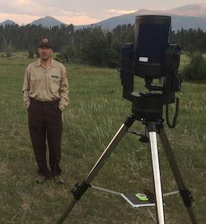 Astronomer Rob