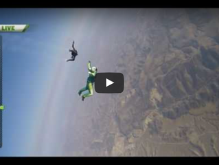 Skydiver With No Parachute