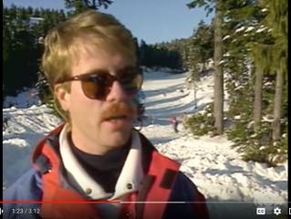 1985 Skiers Vs Snowboarders