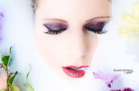 Geschäftskunden Fotoshooting Make-Up