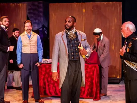 "MARC A. POUHÉ Stars as Shylock in ""The Merchant of Venice"""
