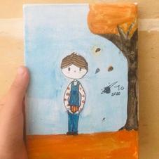 Autumn Boy - SOLD