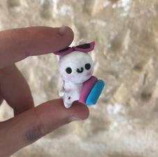Beach Bunny Keychain/Charm - €5.00