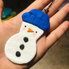 Xmas Snowman Ornament