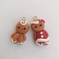 Gingerbread Earrings - €10.00