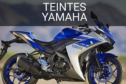 Teintes peinure moto Yamaha