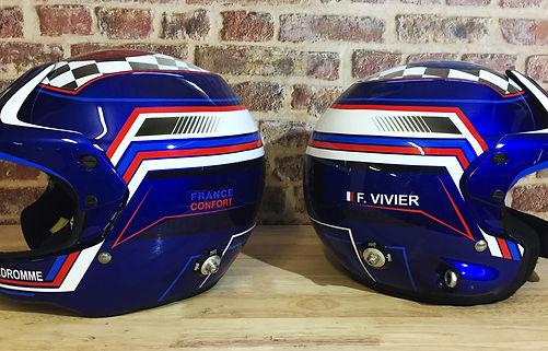 Custom casque stilo WRC tour auto