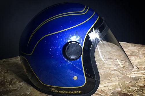peinture casque moto hedon indian roadmaster